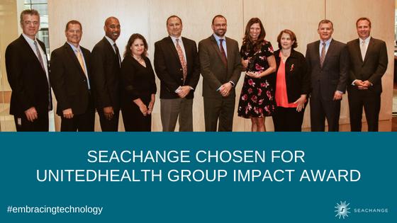 Impact Award - UHG - SeaChange