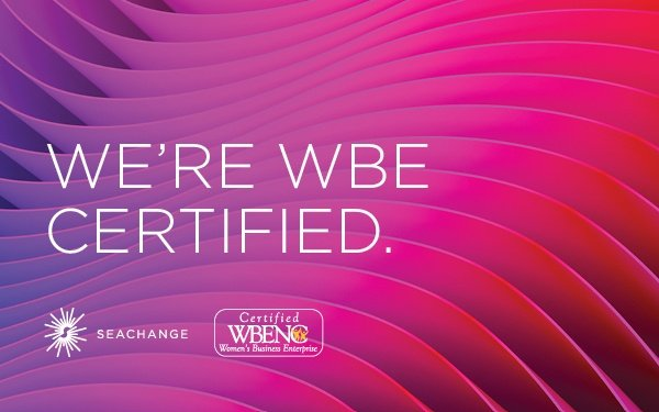 We WBE Certified
