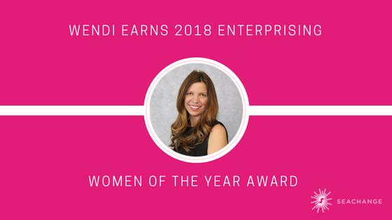 Wendi Earns 2018 Enterprising Women of the Year Award