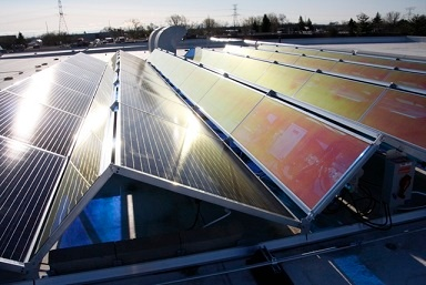 SeaChange celebrates Earth Day 2015 with the completion of solar panel installation.