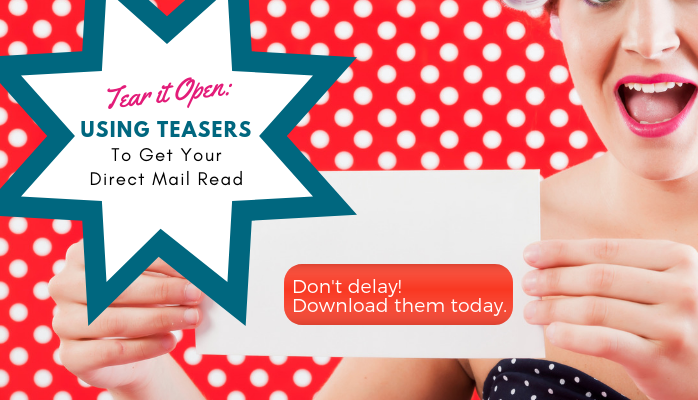 Using Teasers Direct Mail